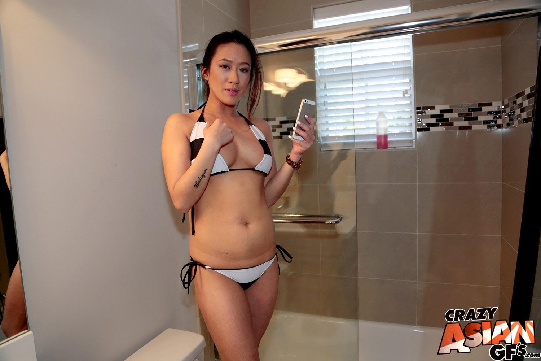 amber bikini selfie asian gf gf revenge - bunny lust