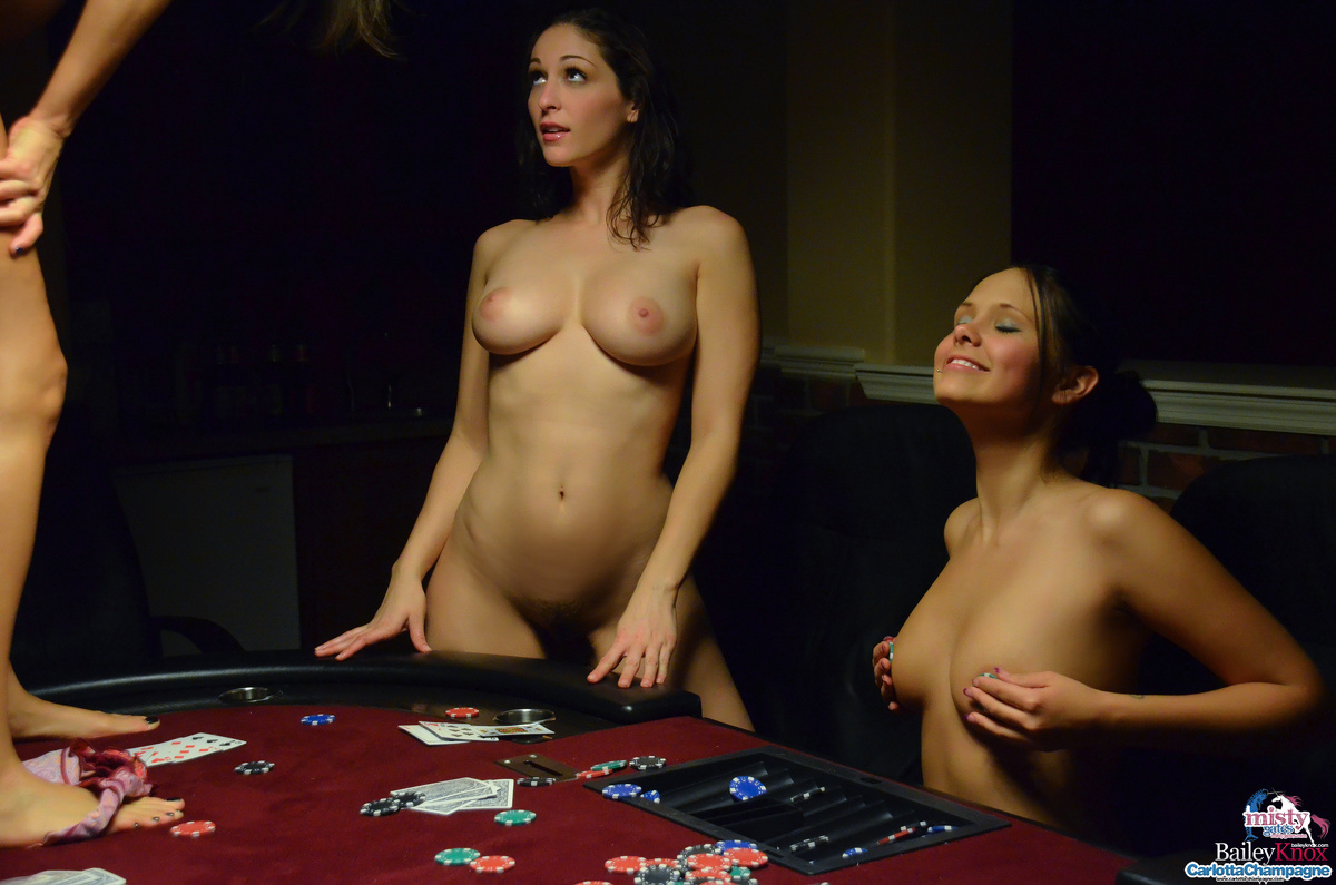 Poker naked party strip girl