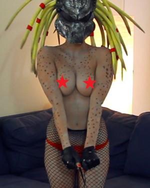Predator girl in nuket picture