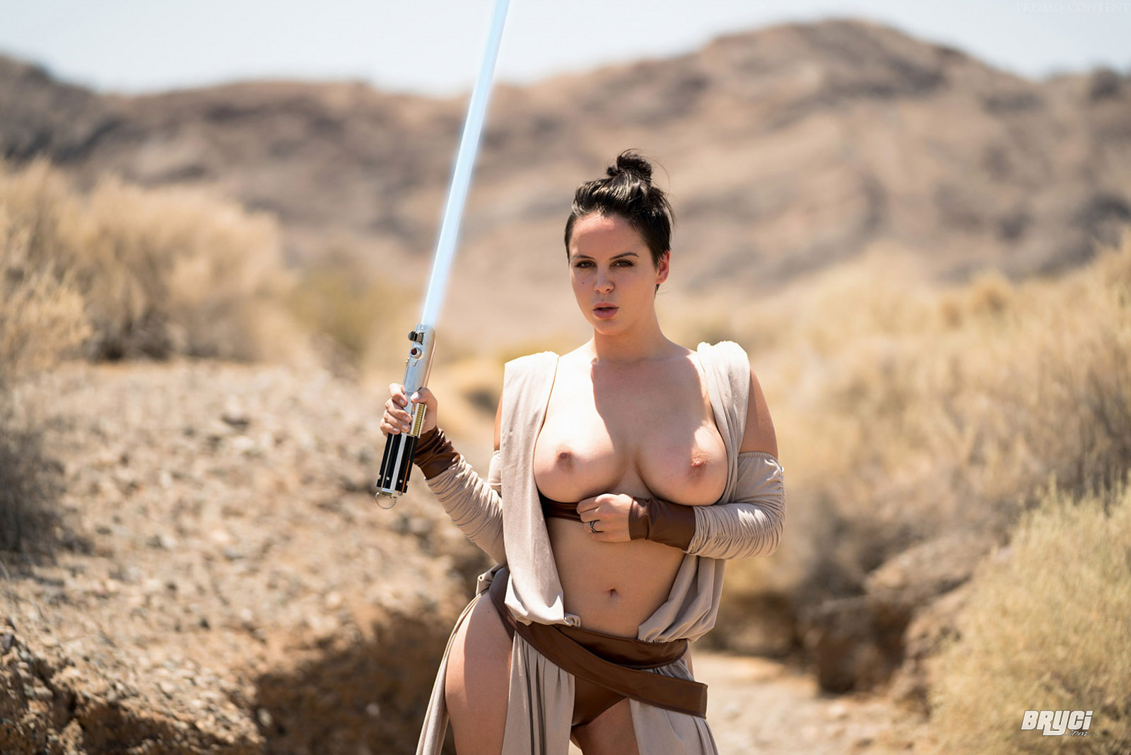 Hot Starwars Girl Fucking A Lightsaber