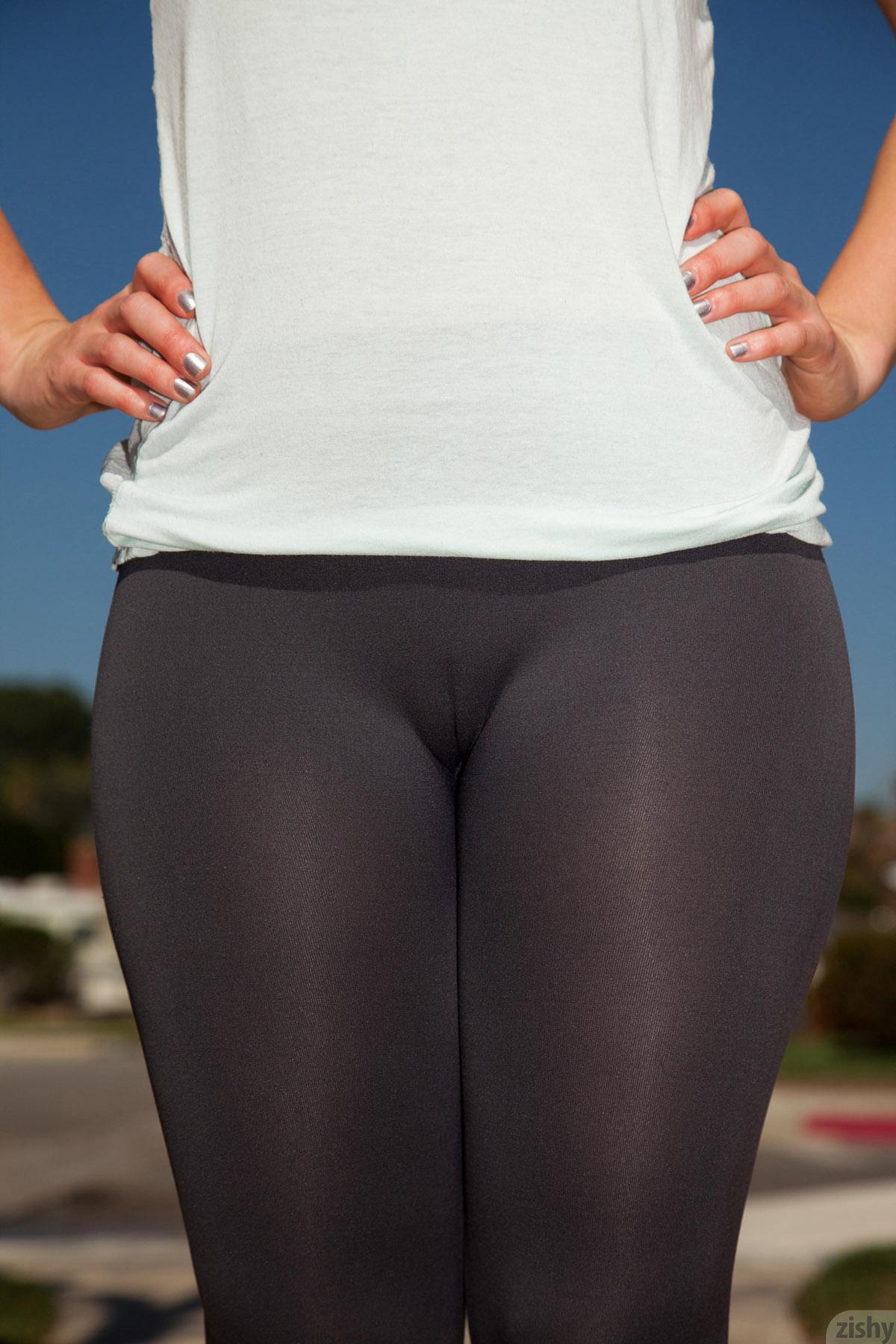 See Through Yoga Pants Nude