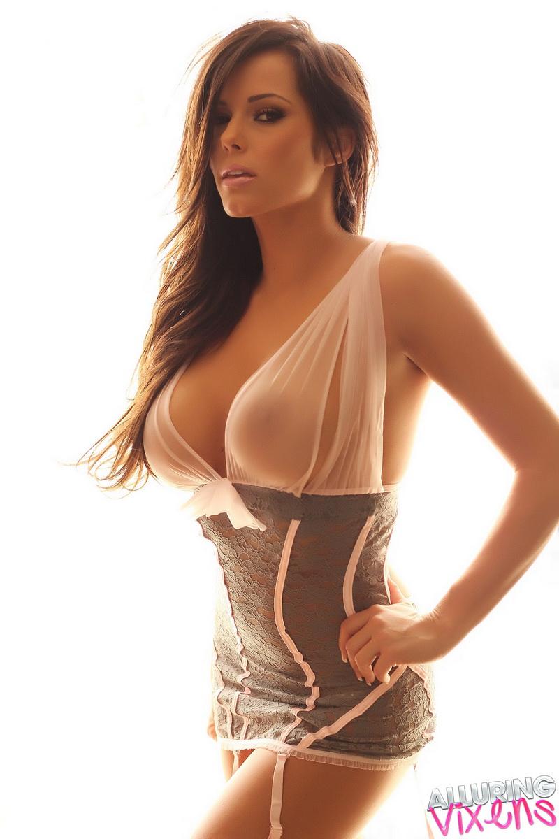 Big nipples beauty with Black