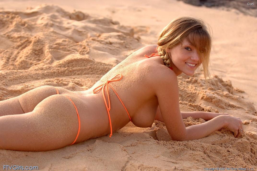 nude carli banks Ftv beach