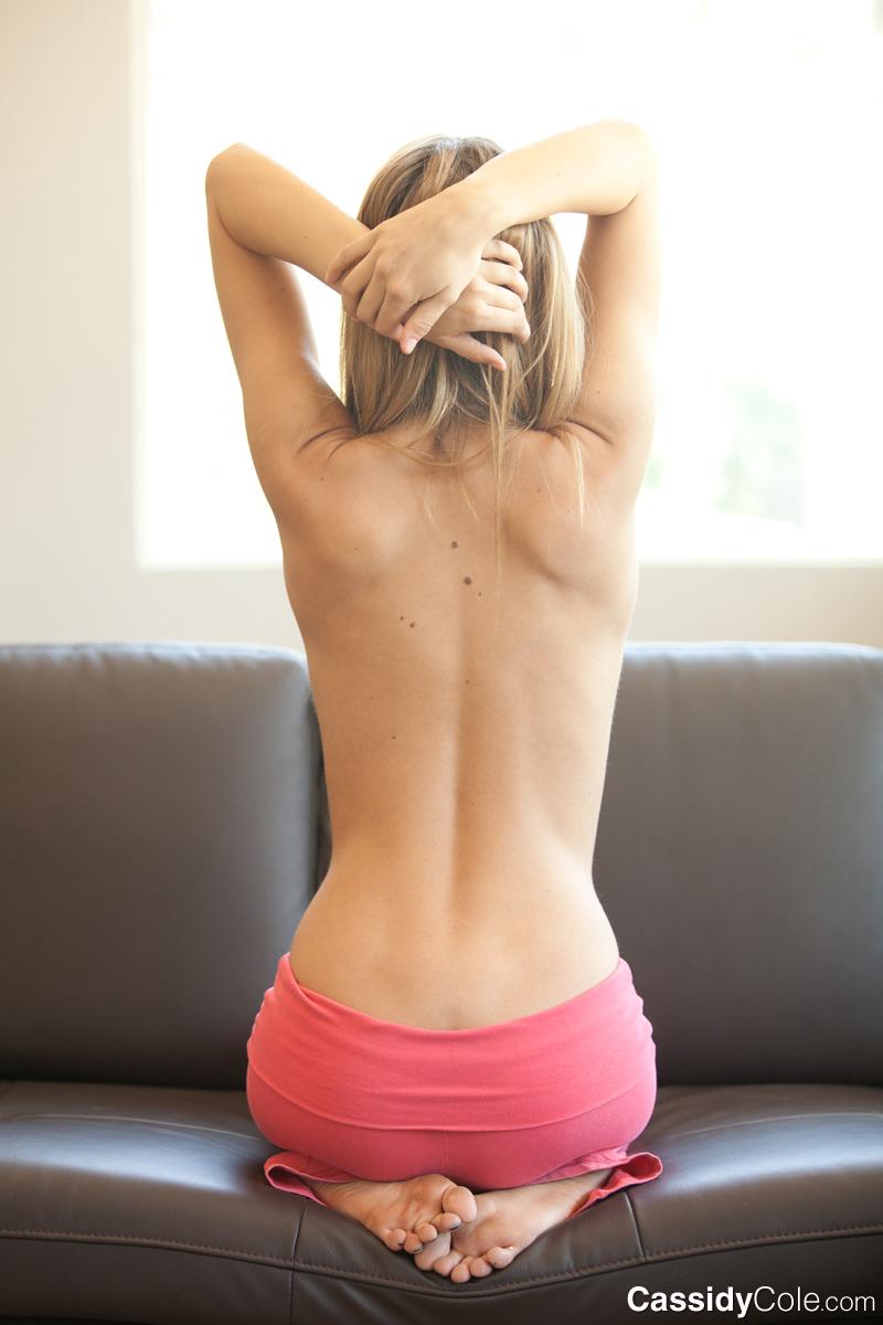 Cassidy Cole Yoga Strip-5598