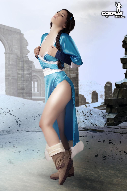 Avatar Porn Naked - ... Cassie Katara Avatar Nude Cosplay