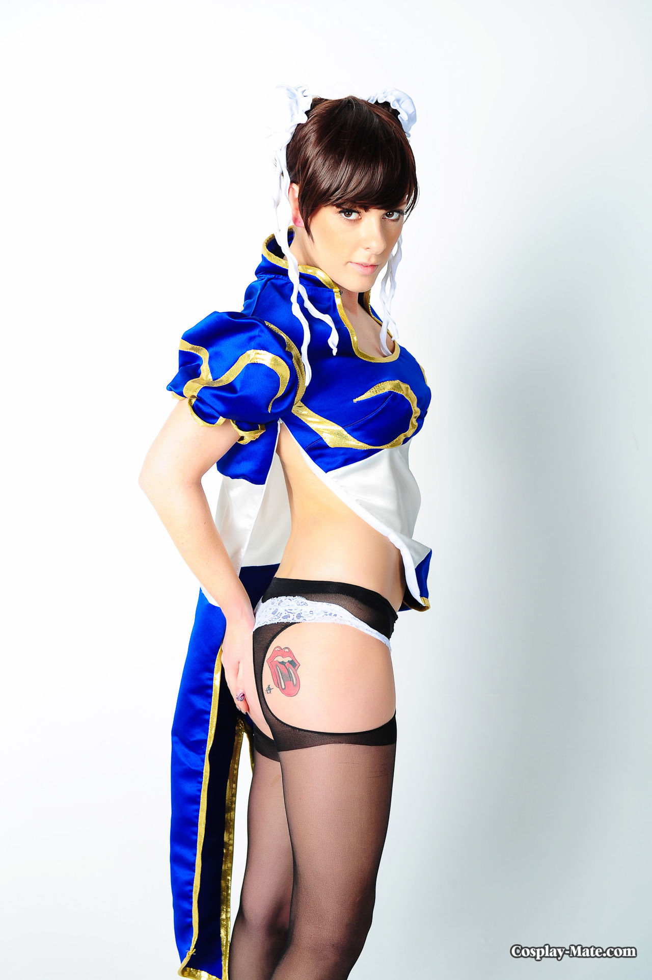 Hot chun li cosplay nude due time