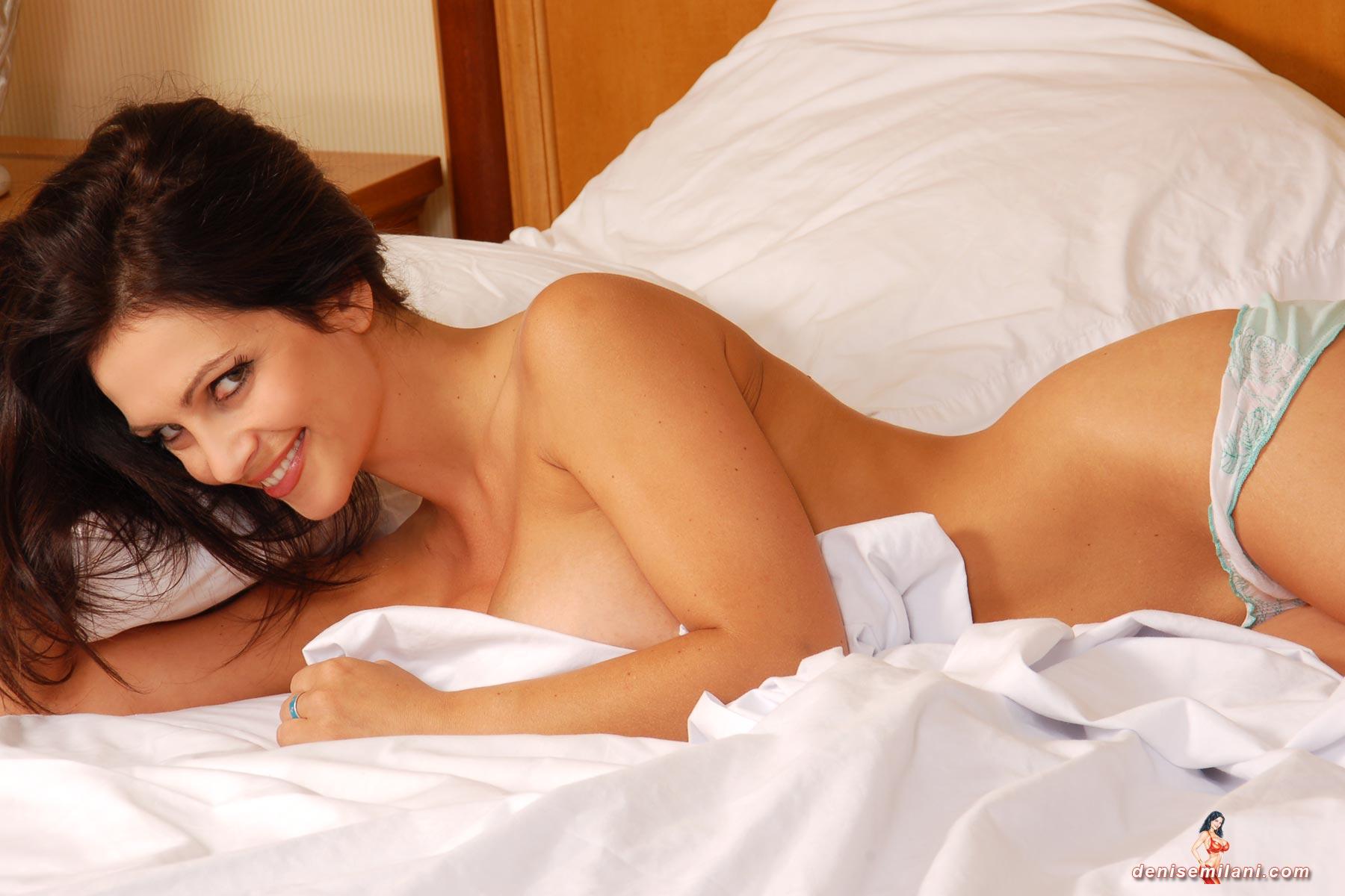 Denise milani nude blonde