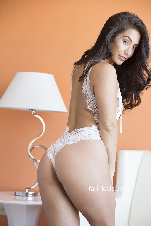 8168f31d8 Eva Lovia Lace Lingerie Nudes - Bunny Lust