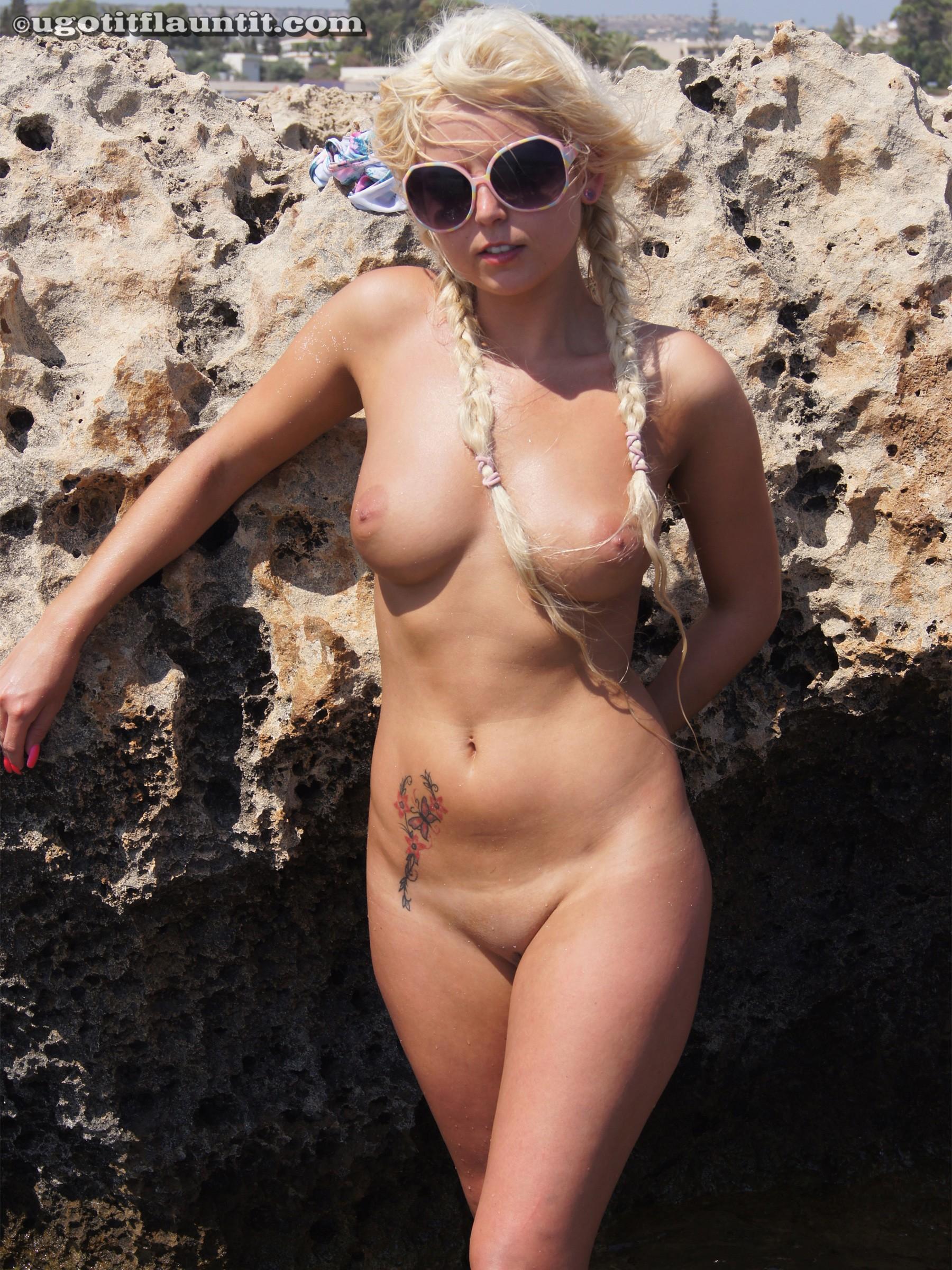 girl lying down naked gif