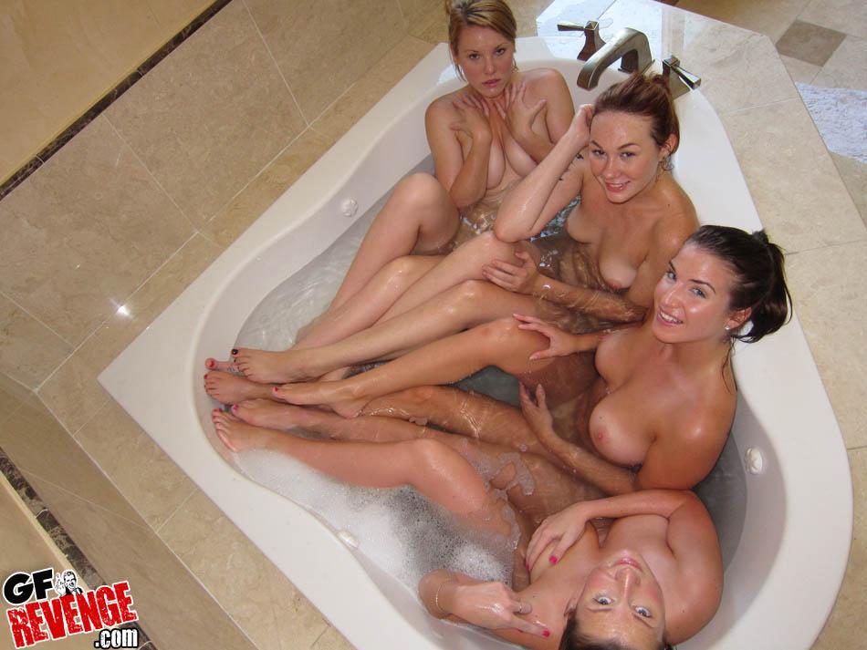 homemade lesbian bath - ... Girls Only Bath Party GF Revenge ...