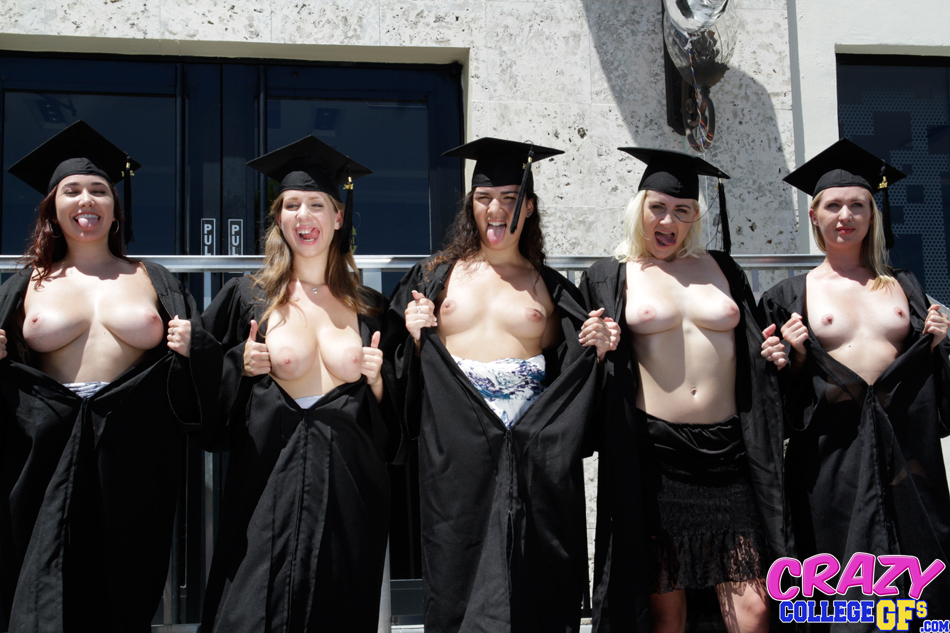 Opinion, Graduation girls naked something is