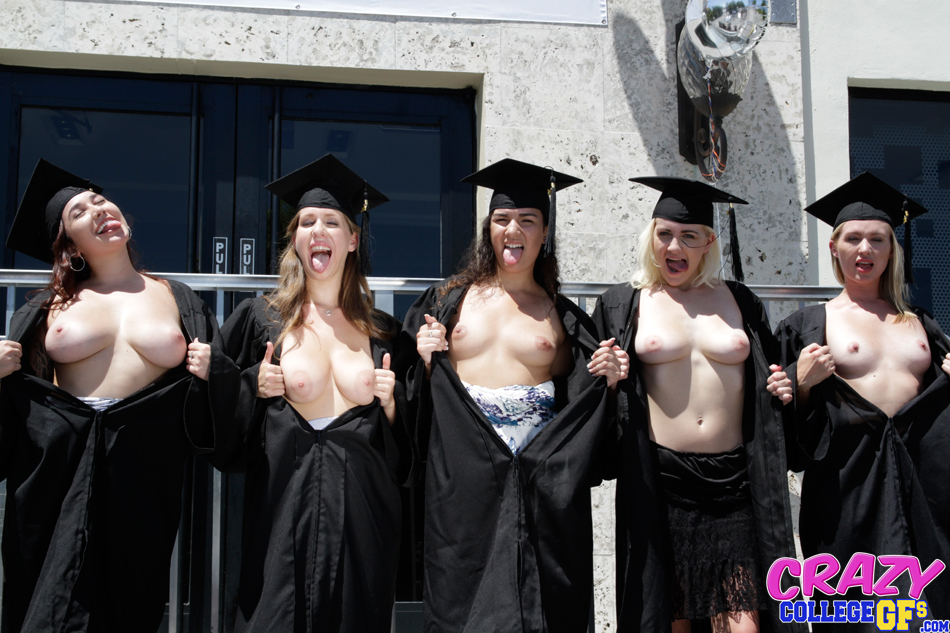 With you Graduation girls naked