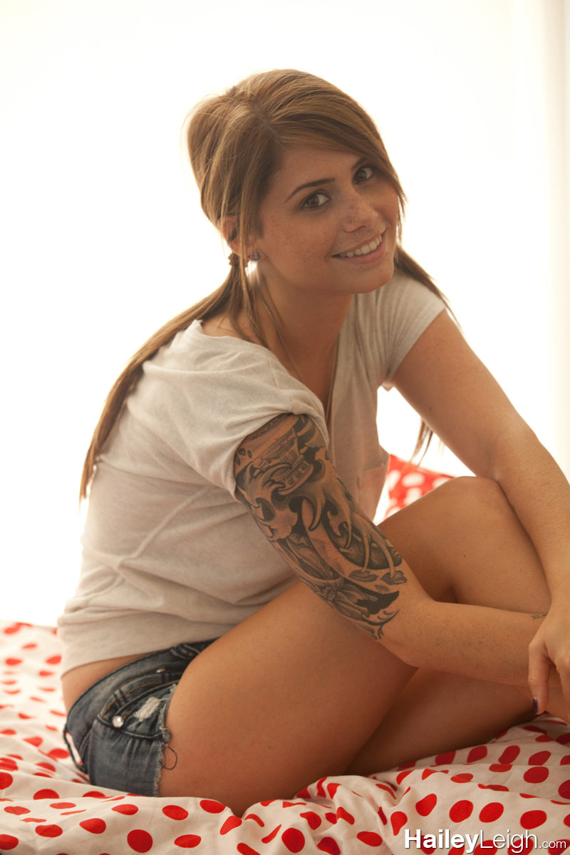 Leigh jean shorts hailey