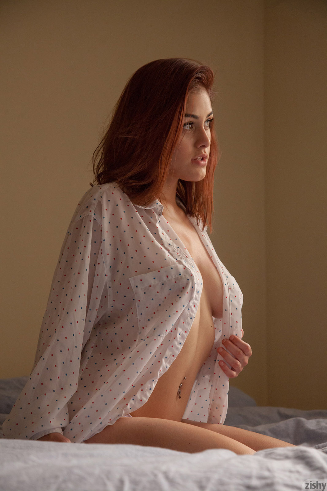 Opinion Sexy naked girl with see thru clothes