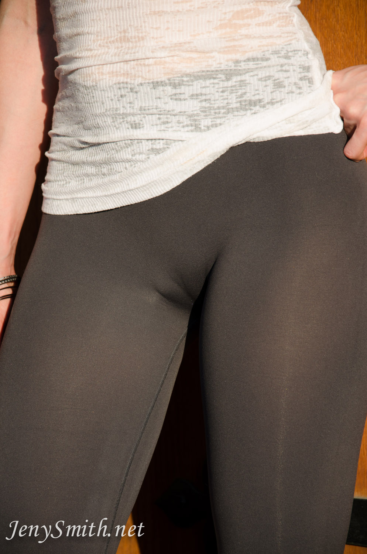 Blonde Black Yoga Pants