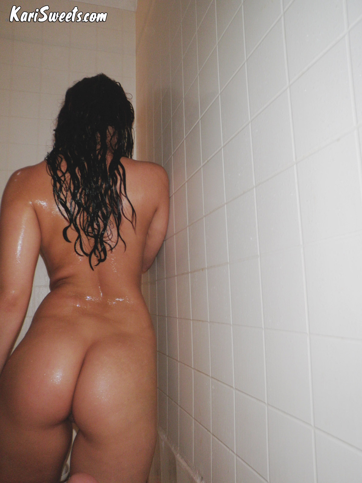 Kari Sweets Naked In The Shower 55
