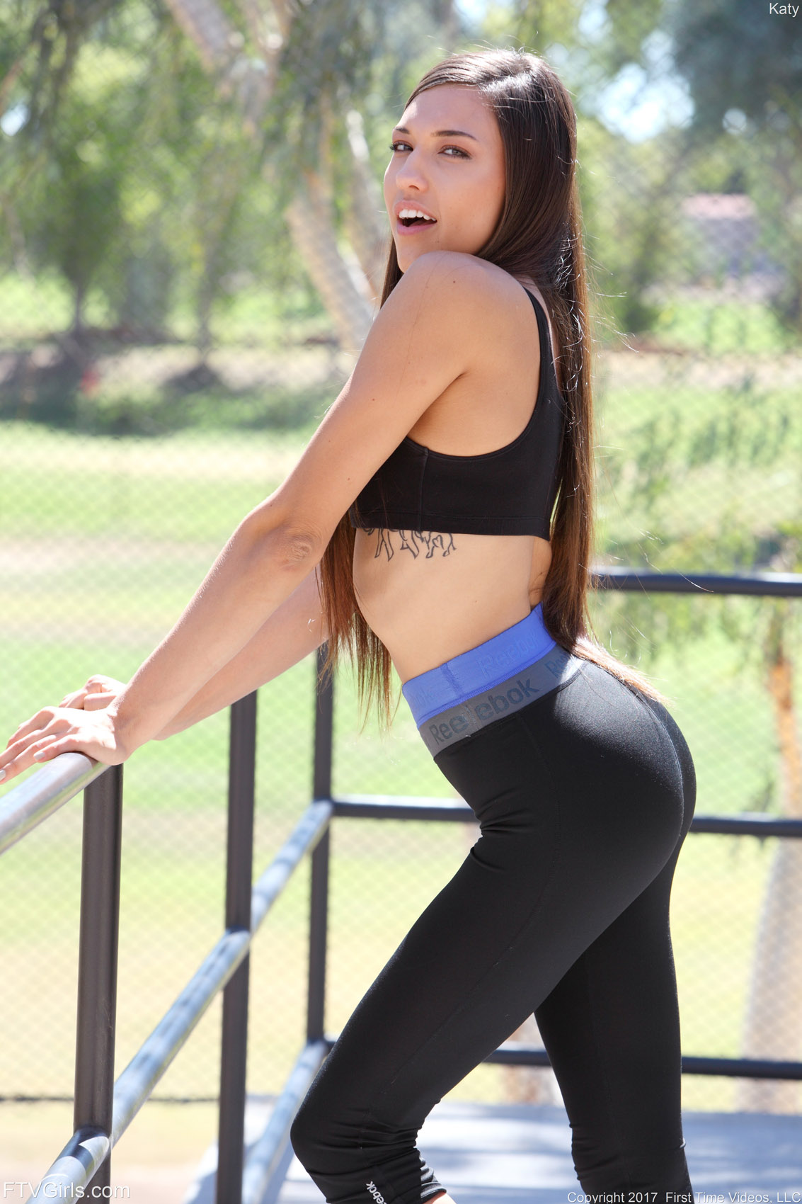 ftv sport pussy ... Katy FTV Girls Sporty Look