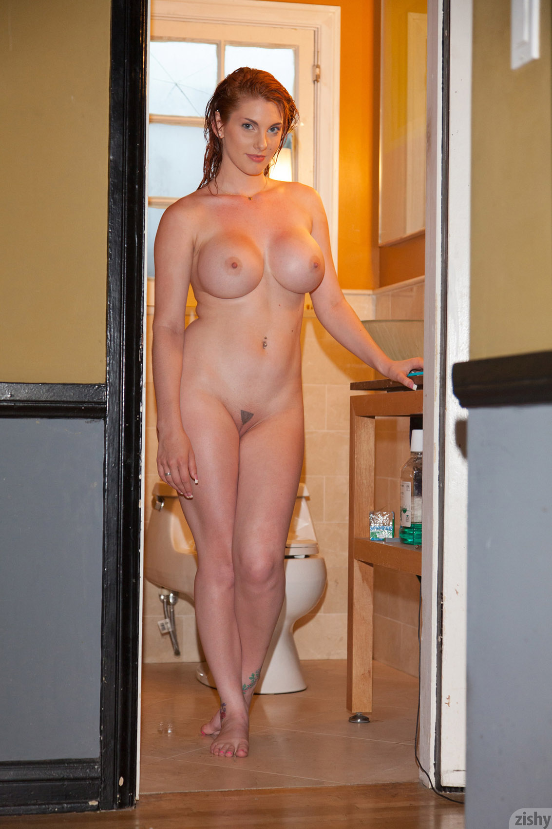 Latex pussy panty