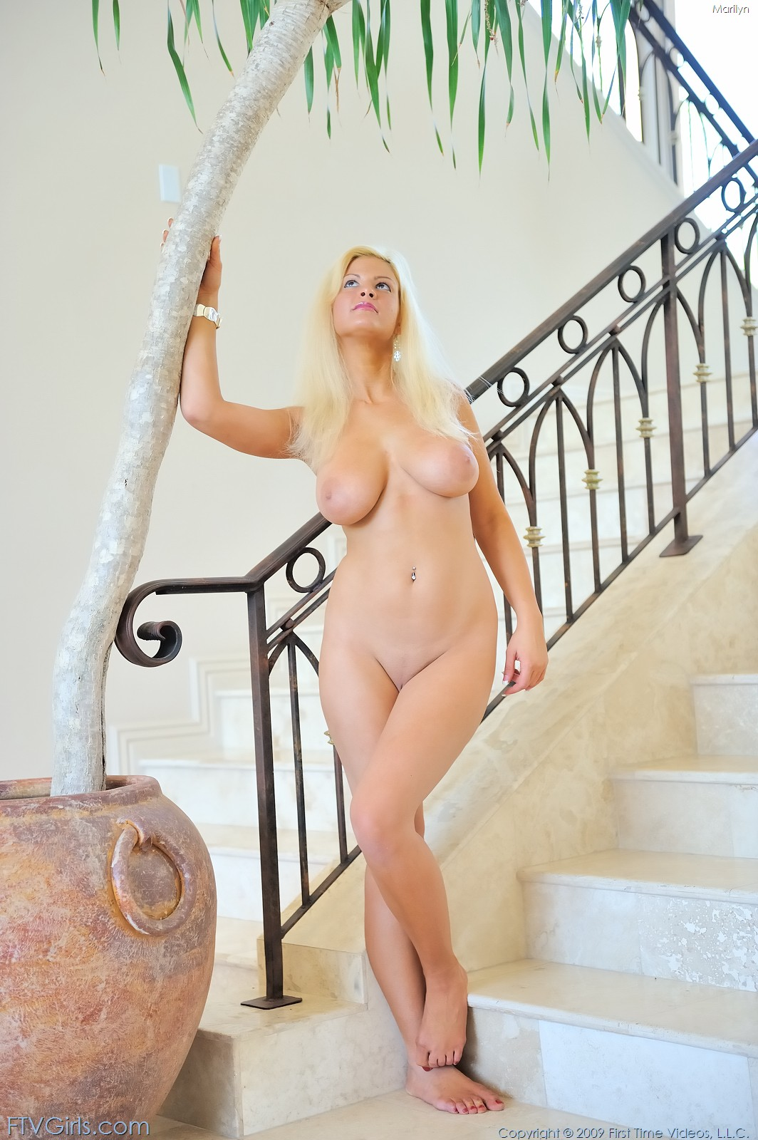 Marilyn FTV Blue Dress