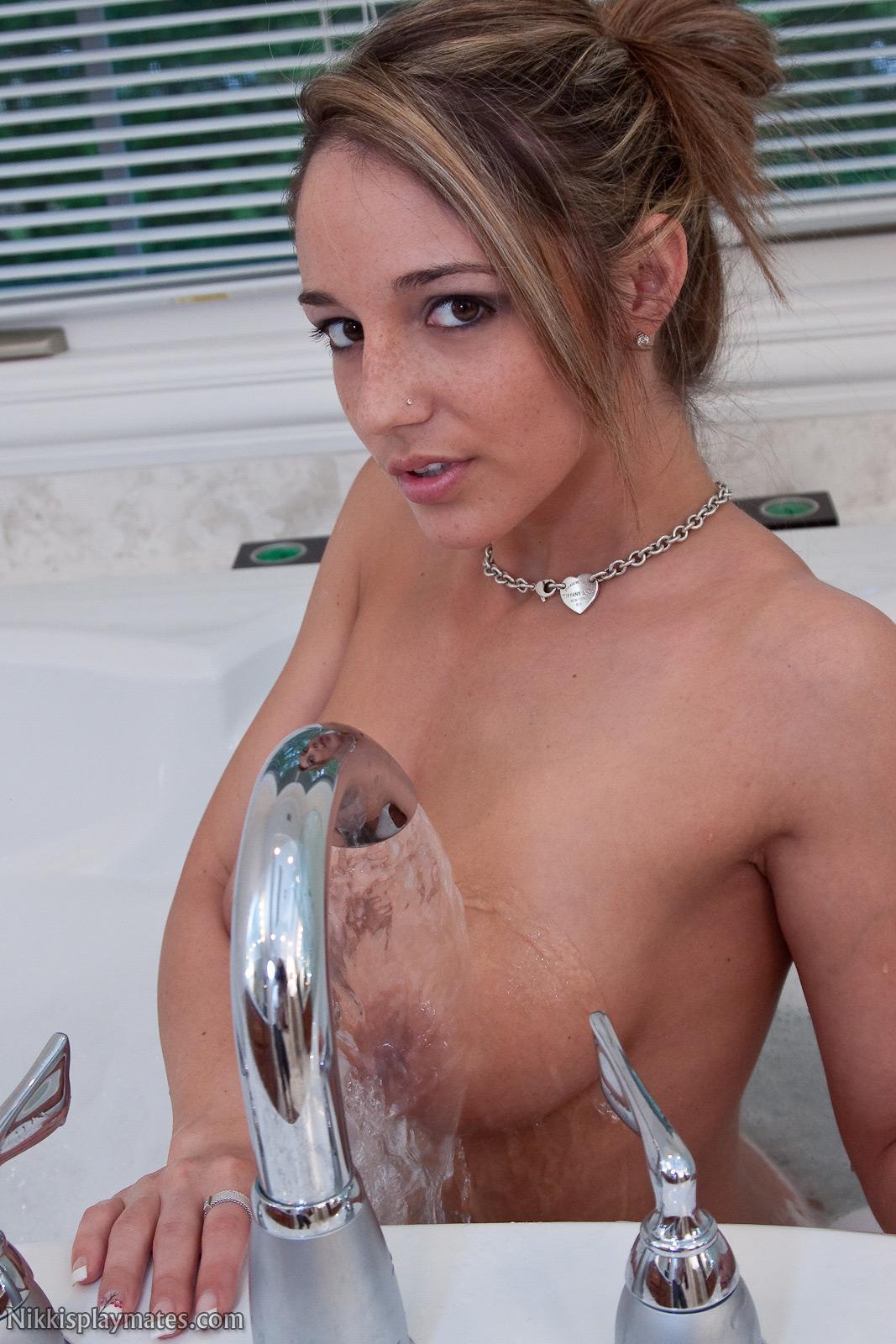 Mine, Nikki sims shower tits