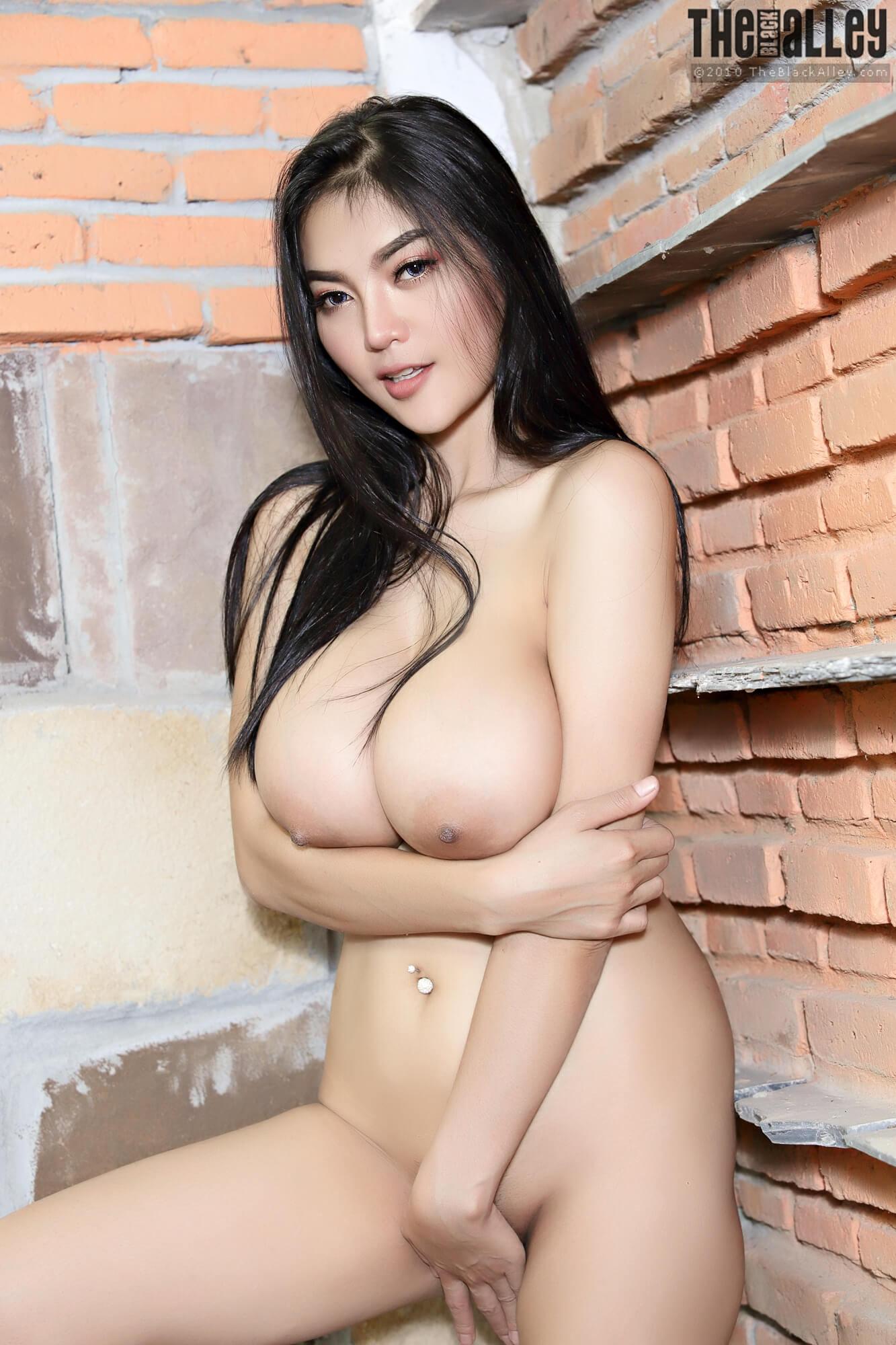 Big plastic boobs