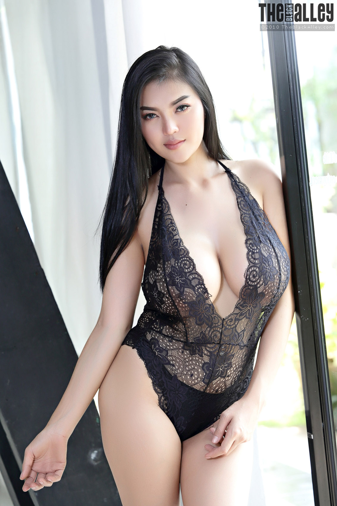 Nude 12 Pictures Pitta Sexy Lingerie The Black Alley - Bunnylustcom-4931