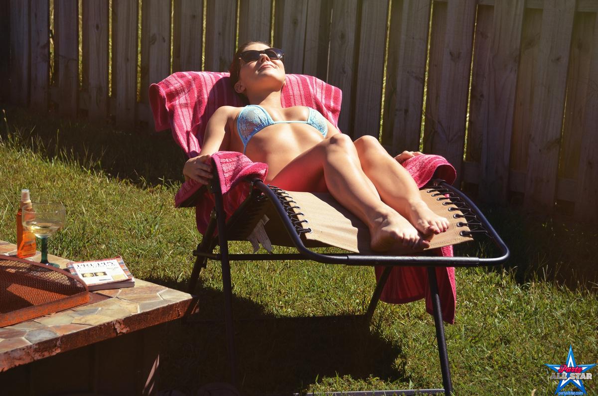 naked backyard party
