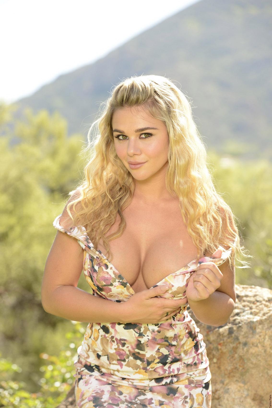 Big tits casting tube
