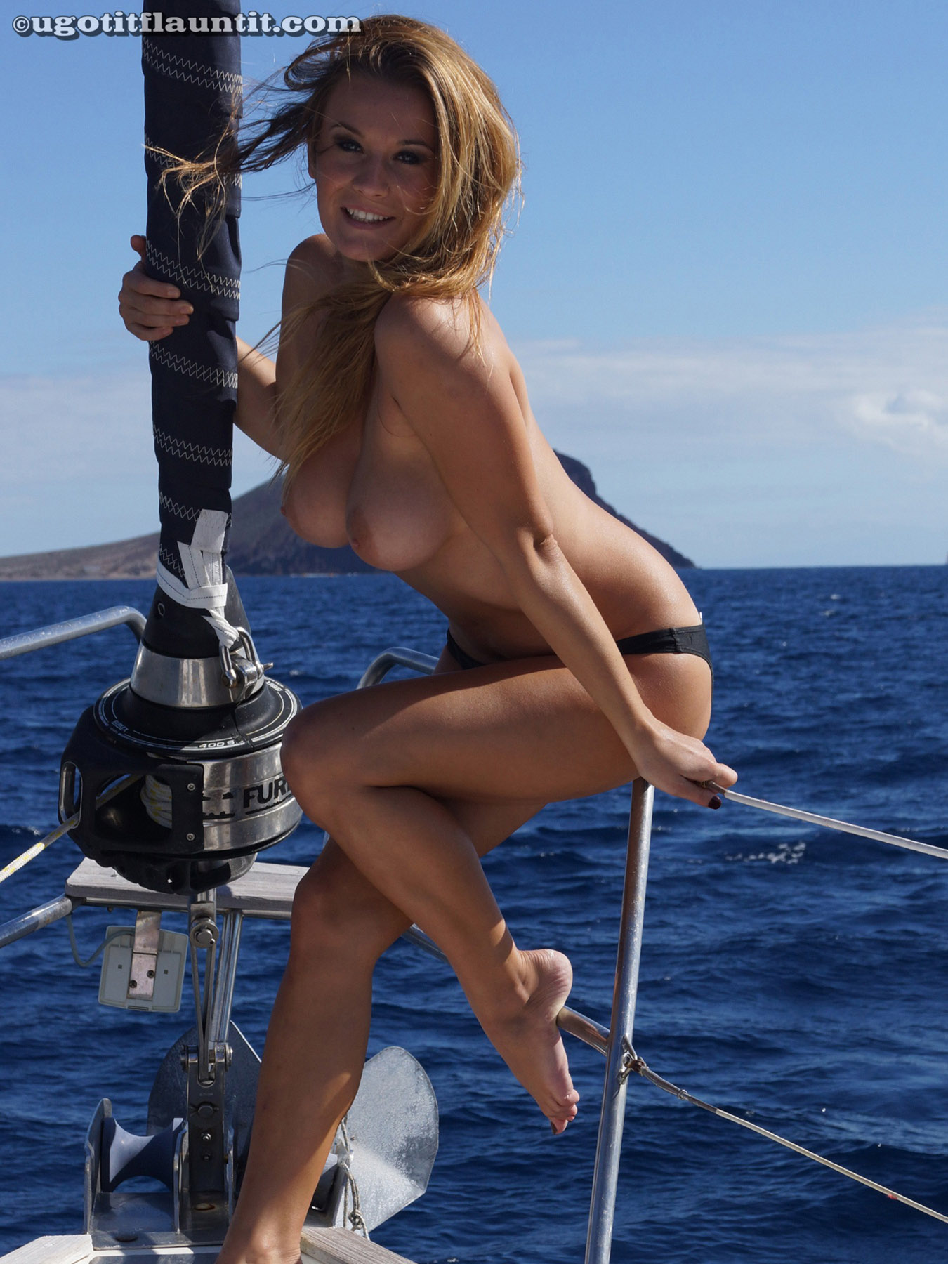 Are mistaken. naked babe in boat think, that