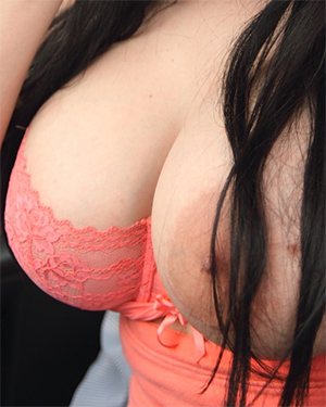 Adrianne Black Takes Her Boobs Out
