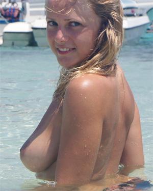 Alana Topless Beach Vacation