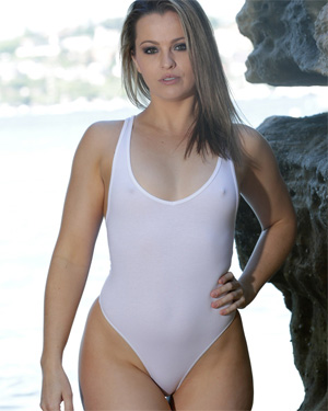 Alexis See Thru Swimsuit