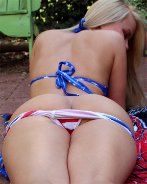 Alisa Kiss Stars and Stripes
