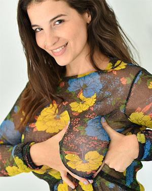Antonella The Cuban Italian Sheer Beauty