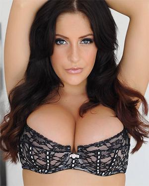 Ashley Emma The Best Black Lingerie Titties