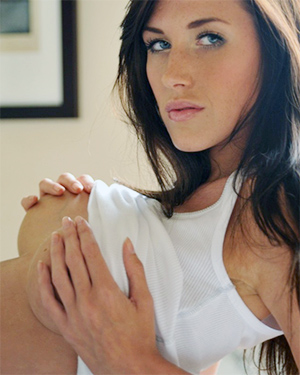 Bailey C Busty Brunette Breathtaker