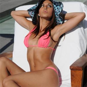 Brittany bikini bashful