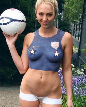 Brooke Marks Soccer Fan