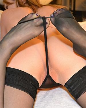 Callista Model Hotel Room Stripping
