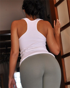 Cara De La Hoyde Tight Leggings