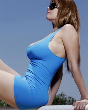 Carolina Sexy Blue Dress