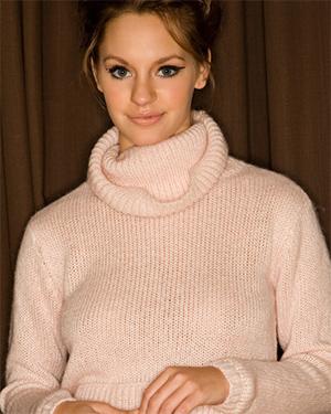 Cassie Keller Sexy Sweater Playboy