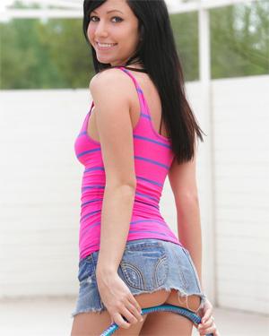 Catie Minx Hoop Girl