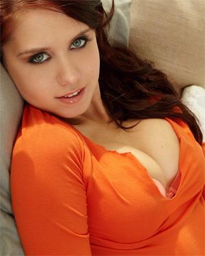 Chrissy Marie Has An Orange Crush