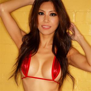 Christine Red Bikini All Star