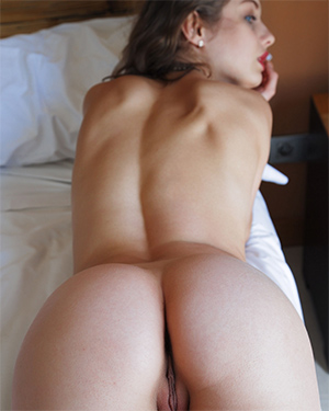 Clarice Madlae Nude Booty for Met Art