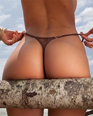 Claudia Perfect Bikini Booty