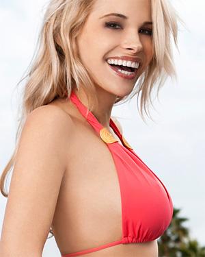 Dani Mathers Red Bikini Lust