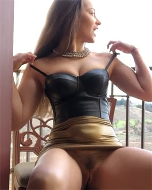 Dani Daniels Solo Masturbation Video
