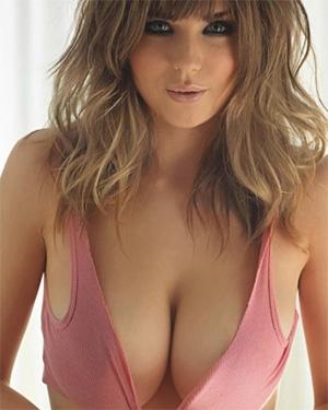 Danielle Sharp Busty Beauty